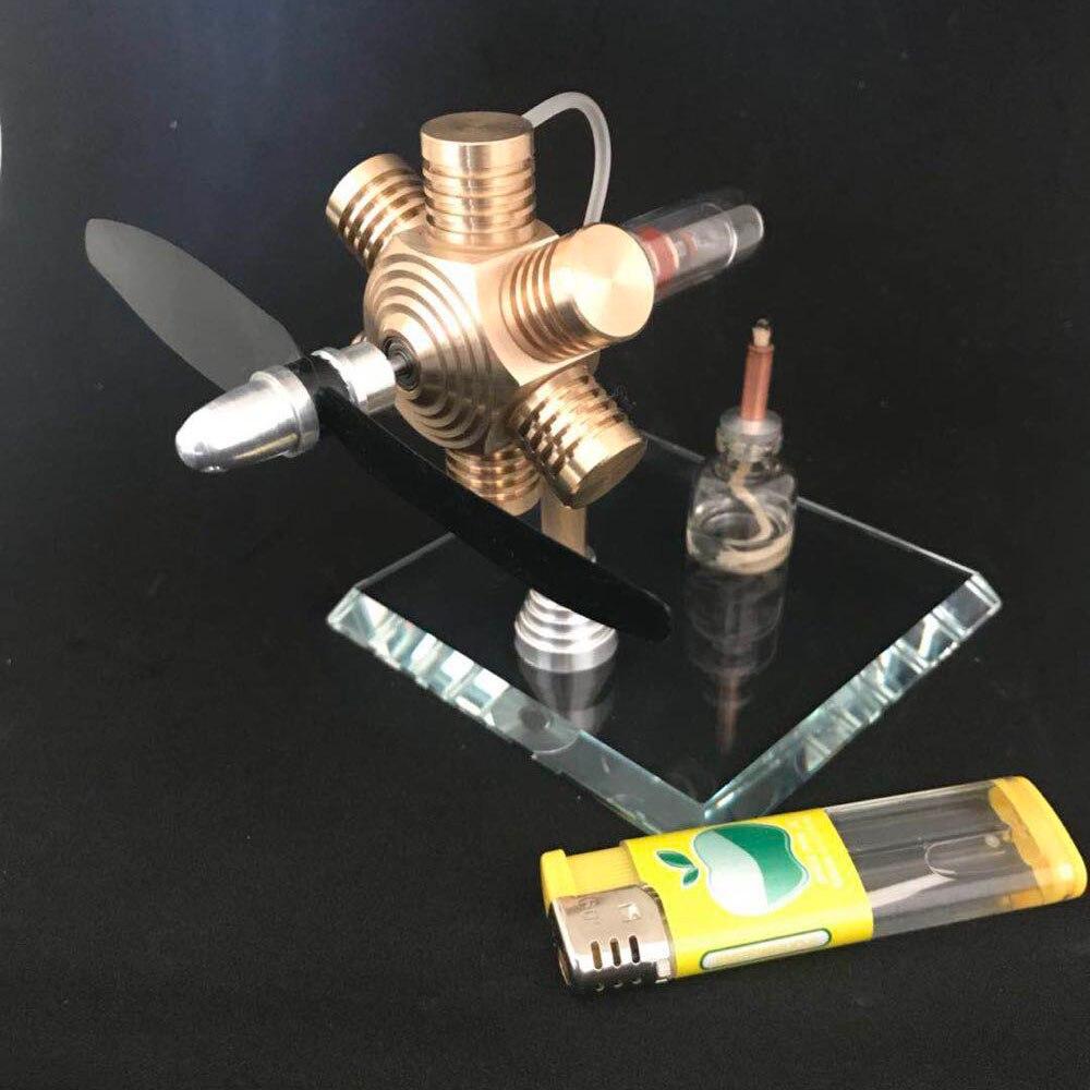 Stirling engine external combustion engine miniature birthday gift engine mini steam engine model engine oil engine mini engine model hit and miss engine send friend birthday gift