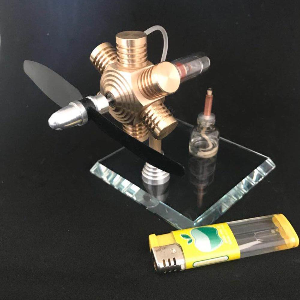 Stirling engine external combustion engine miniature birthday gift engine mini steam engine model