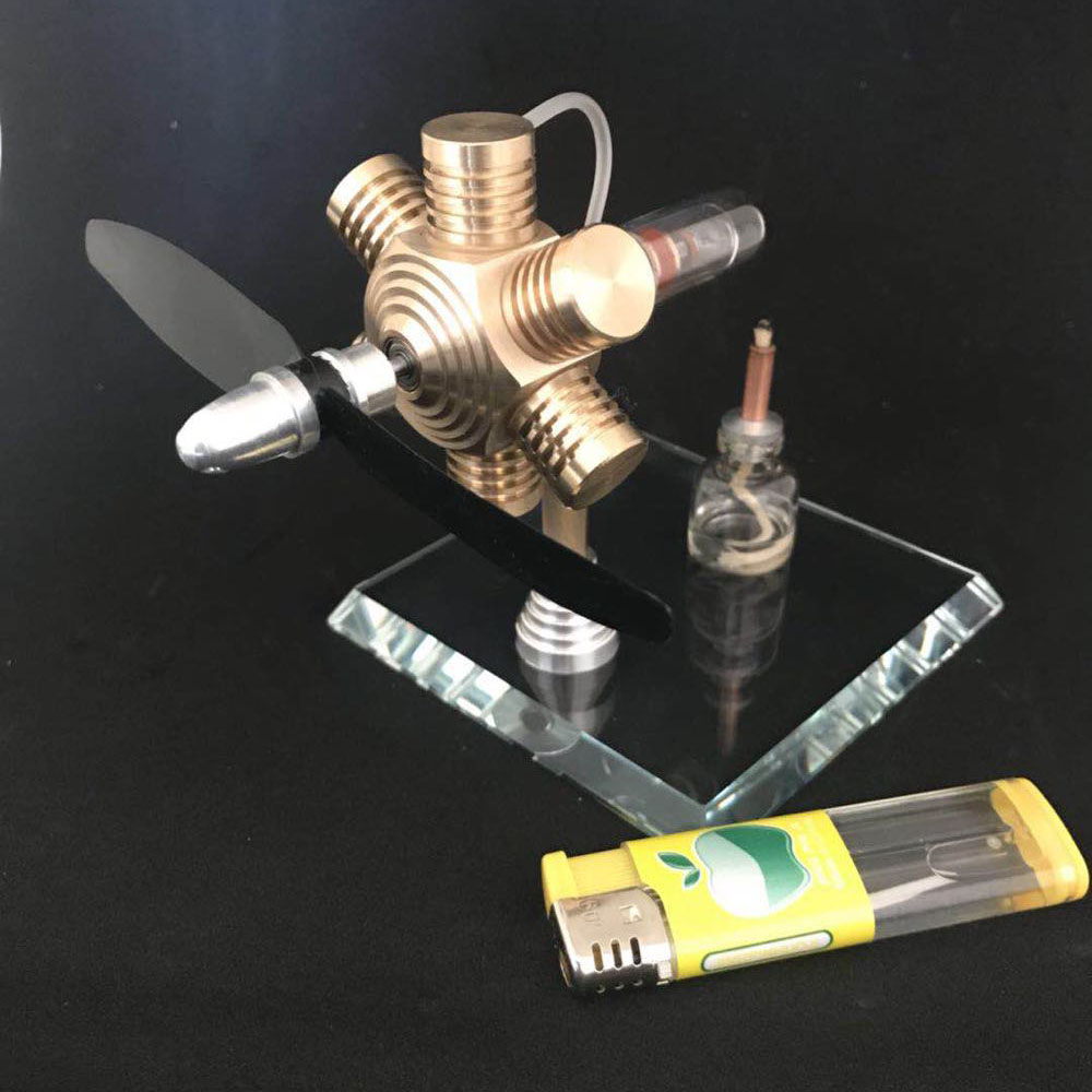 Stirling Engine External Combustion Engine Miniature Birthday Gift Engine Mini Steam Engine Model