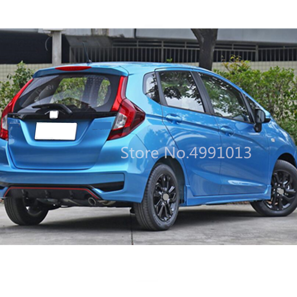 For Honda Fit Jazz 2017 2018 2019 car sticker styling plastic window glass wind visor rain sun guard vent 4pcs in Awnings Shelters from Automobiles Motorcycles