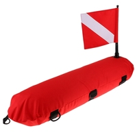 Inflatable Diving Signal Float Buoy Dive Flag Diver Down Banner
