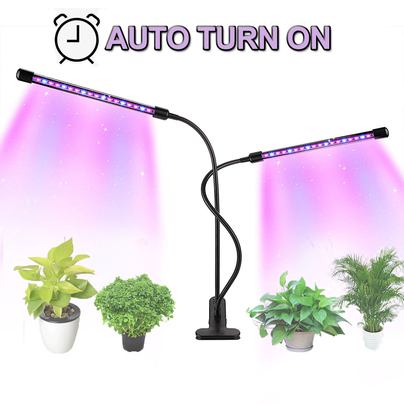 Led Grow Light 9W 18W 27W Timer Phyto Lamp For Plants Full Spectrum Grow Box Light USB 5 Dimmable For Indoor Plant Seedlings Led