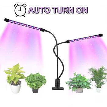strong Import List strong Oświetlenie Led do uprawy 9W 18W 27W Timer lampa fito dla roślin Full Spectrum growbox Light USB 5 możliwość przyciemniania dla roślina doniczkowa sadzonki led tanie i dobre opinie SEAMETAL CN (pochodzenie) ROHS Aluminum C39576 Aluminium Phyto lamp Żarówki led Śruba ściemniacz Rosną światła 3 years