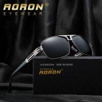 AORON new polarized square sunglasses women classic brand leisure designer men's goggles gafas oculos de sol masculino A377
