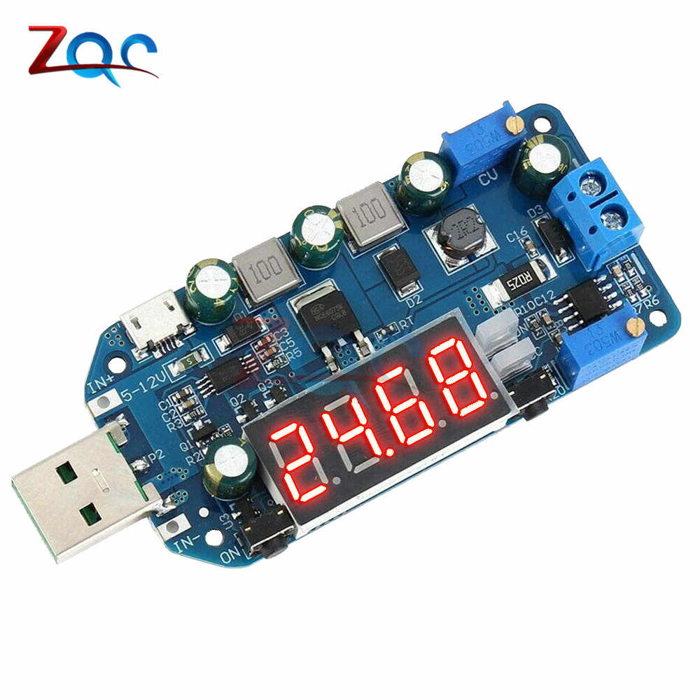 DC-DC CVCC 15W 2A 5V naar 3.3V 9V 12V 24V 30V Verstelbare Stap UP/Down Voedingsmodule Boost Buck Voltage regulator Converter