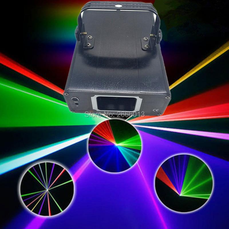Niugul DMX512 Multi Color RGB Laser Light Bar DJ Lighting Full Color Laser Light Laser Projector