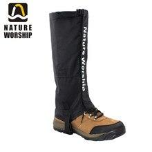1 Pair Outdoors Camping Hiking Climbing Hunting Ski Riding bike or motorcycle Waterproof Leg Gaiters windproof gaiters