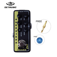 Mooer Micro Digital Preamp 002 UK Gold 900 Delay and reverb effects with 3 band EQ, Gain and Volume controls