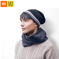 Xiaomi 90FUN Double Side Knitted Hat Soft Keep Warm Anti Pilling Striped Beanie Hats Winter For Man