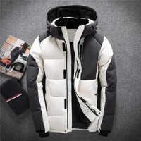 New Fashion Waterproof Windproof Warm Duck Down Jacket Men's Casual Fashion Jackets For Men Down Coat Outerwear