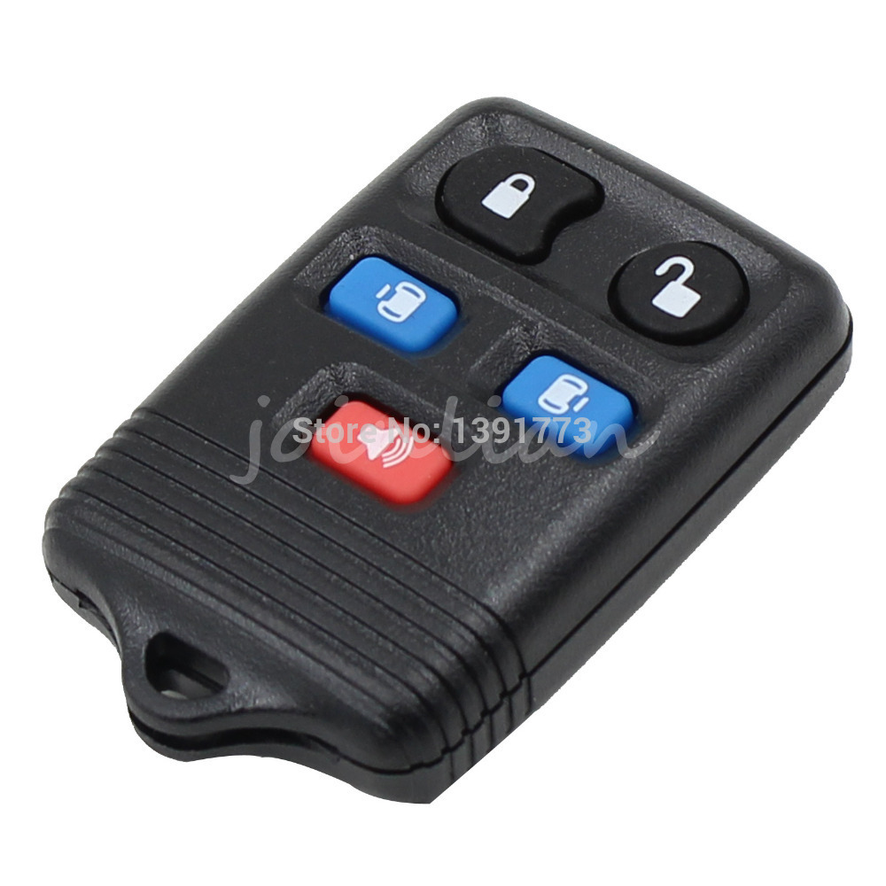 Dandkey 5 buttons remote key case fob shell cover for ford expedition lincoln navigator 2004 2005