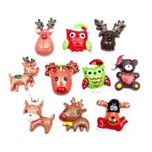 Embellishments Crafts Scrapbooking Diy-Accessories Christmas-Decoration Flatback Cabochon