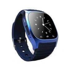 M26 bluetooth sms recordando digital smartwatch reloj montre conector para android samsung smartphones android wear caliente!!!