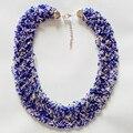 Новый 2015 Мода Чешского Бисера Ожерелья моды ожерелья для женщин 2015 ожерелье аксессуары Украшения Для Тела NK718