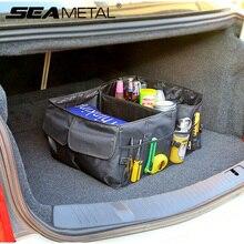 Багажник автомобиля организатор сумка Оксфорд складной ящик для хранения грузов средства ухода автомобиля внедорожник Авто карман