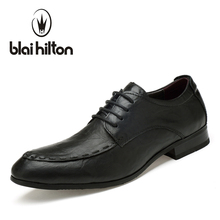 Blaibilton Genuine Leather Formal Shoes Suit Luxury Men Shoes Casual Oxford Classic Male Elegant Office Business Dress SD1618