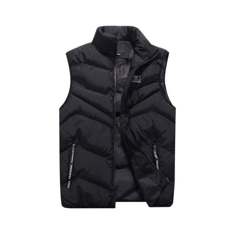 2018 New Arrival Brand Men Sleeveless Jacket High Quality Winter Autumn Red Black Vest Male Slim Vest Mens Warm Vest H6