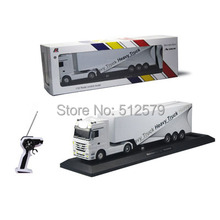 Remote control 1:32 Detachable RC Trailer Truck Toy with light and sounds  Car