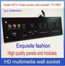 מלון שקע/שקע TY-W07 HDMI