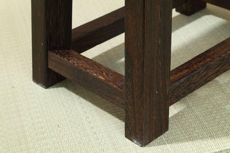 Японска антична дървена пейка на - Мебели - Снимка 4