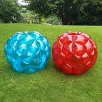 Outdoor Activity Toys Inflatable Bubble Buffer Balls Collision Body Bumper Ball Kids Funny Body Punching Ball Kids Sports Toys