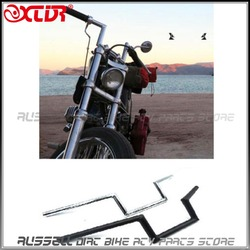 Motorcycle Drag Z-Bar Pullback Handlebar 22mm For SUZUKI Honda CG Chopper Cafe Racer Vintage Retro