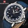 NAVIFORCE Luxury Brand Men Sport Watches Leather Quartz Clock Men Waterproof Wrist Watch Male Military Watches