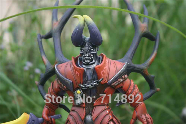 dota 2 doom toy 9 pvc action figure