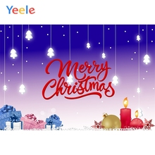 Yeele Merry Christmas Telpher Tree Gifts Wallpaper Photography Backdrops Personalized Photographic Backgrounds For Photo Studio