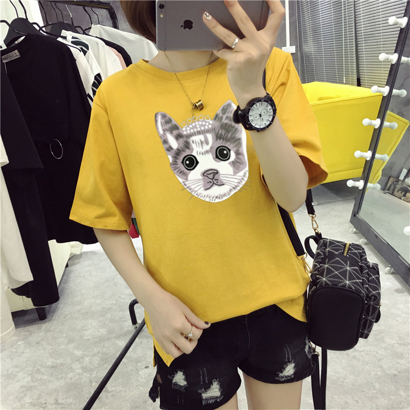 DZ T Shirt Women Cotton Elastic Basic T shirts Female Casual P30