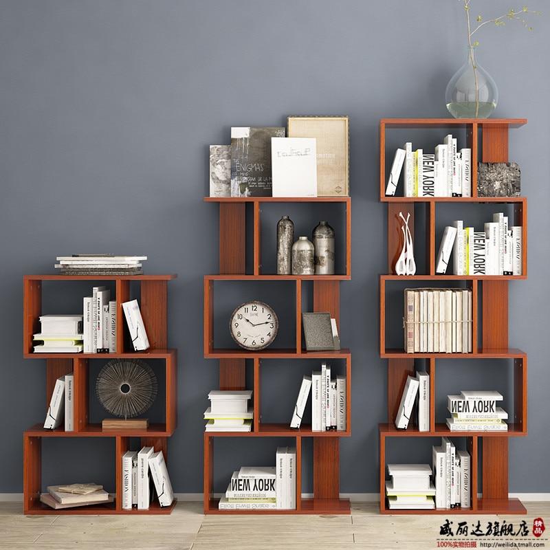 Modern Office Bookshelf Simple Table