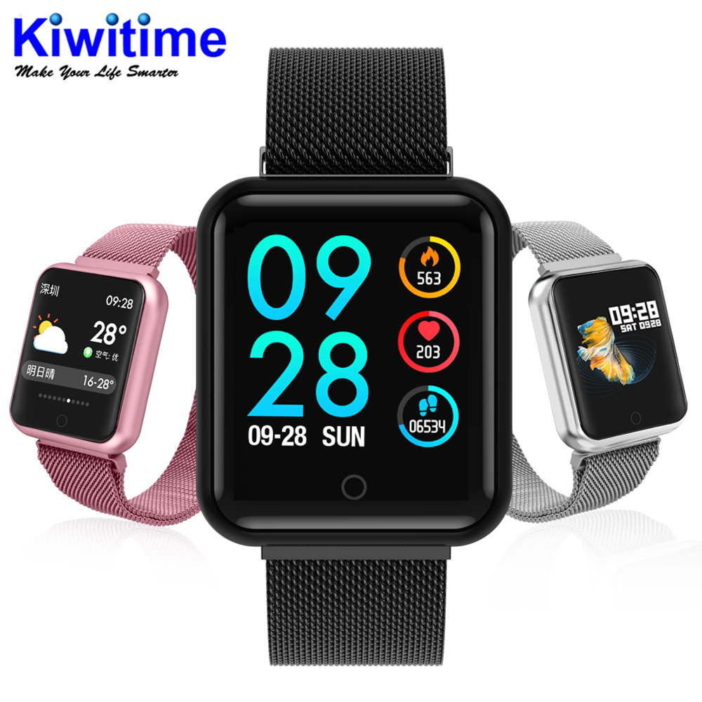 IWO Band 1 IP68 Waterproof 38mm Smart Watch heart rate monitor blood pressure for ios Android
