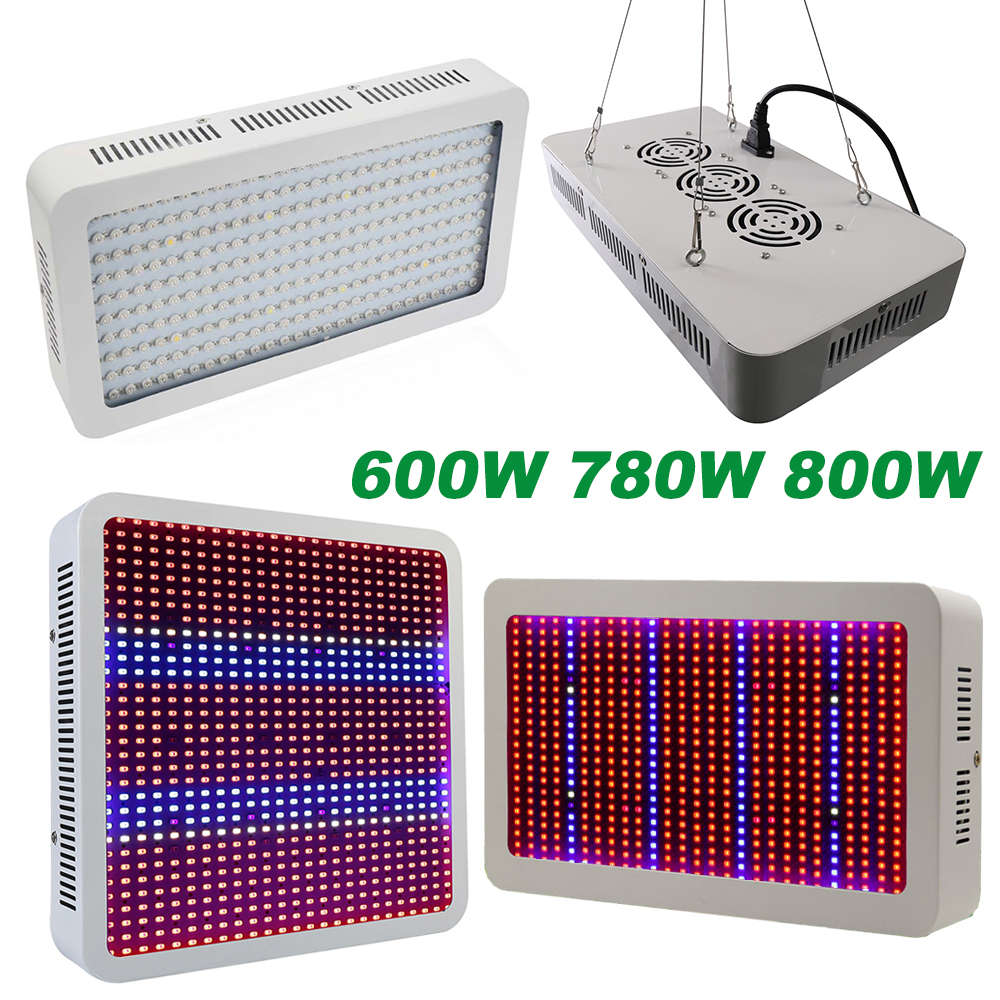 Full Spectrum 600W 780W 800W SMD5730 Chip LED Grow Light Red/Blue/White/UV/IR For hydroponics and indoor plants 7 band 8 band 200w cob led grow chip full spectrum red blue uv ir white led plant grow chip 2 channel output for hydroponics