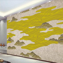Abstract line artistic landscape background wall professional custom mural wholesale wallpaper poster photo