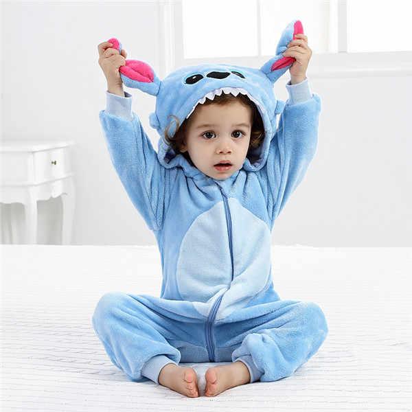 Детские комбинезоны для маленьких мальчиков и девочек; фланелевый комбинезон с рисунком лисы; зимний комбинезон с рисунком животных; детские комбинезоны с длинными рукавами и капюшоном; Bebe; одежда для малышей