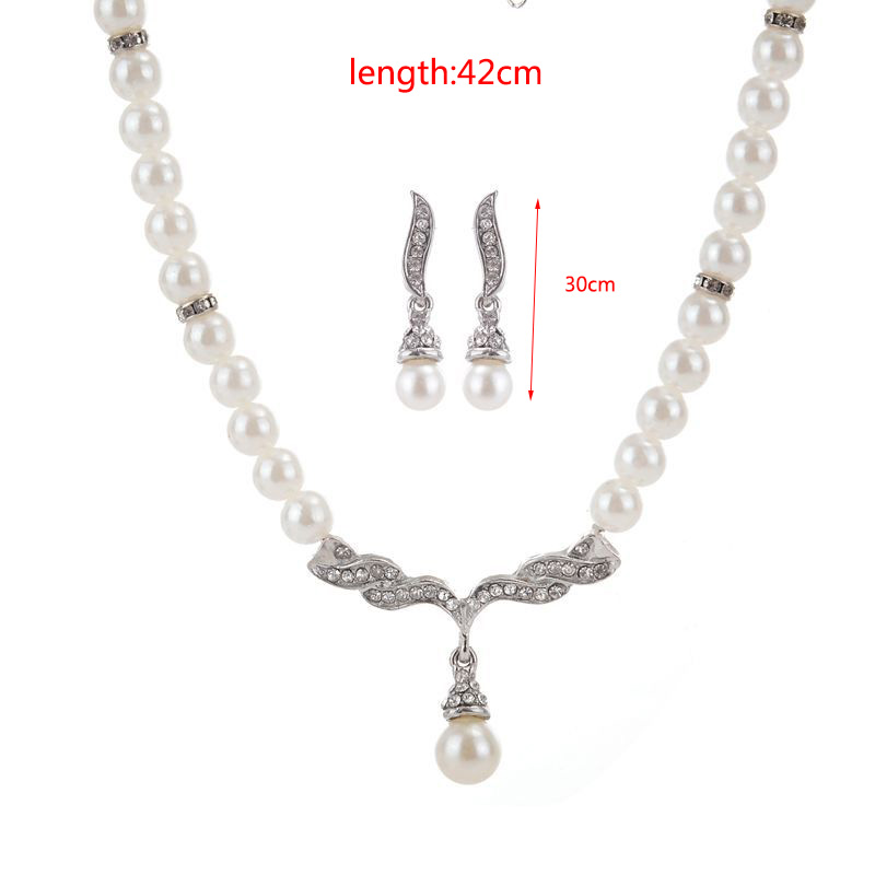 Pearl Necklace Multilayer Choker Jewelry Women Necklaces & Pendants