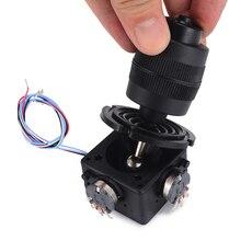 Botão eletrônico de potenciômetro joystick de 4 eixos para controlador JH D400X R4 10k 4d com fio para industrial