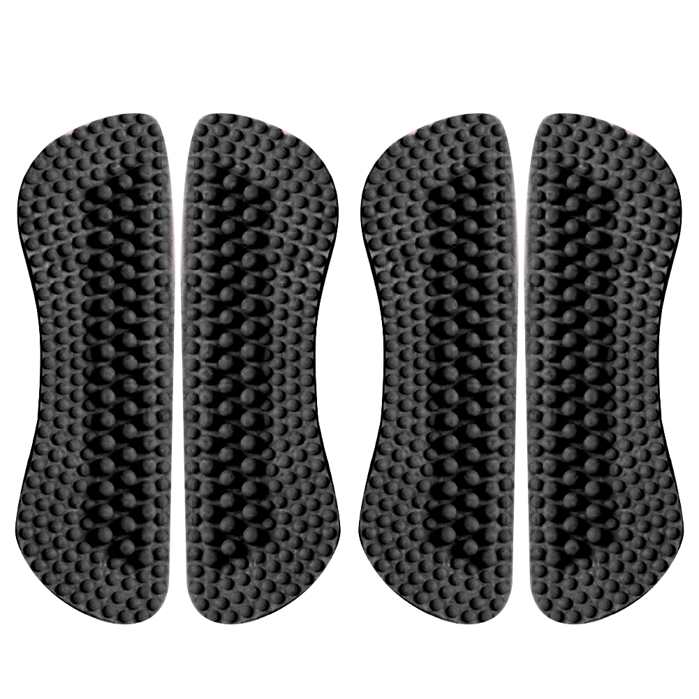 2 Pairs Fashion Soft Accessories Back Self Adhisive Anti Blisters Shoe Insole Foot Protection Silicone Insert Pad Heel Grips