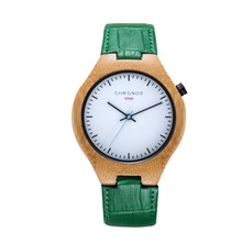 купить 2019 CHRONOS Classic Bamboo Leisure Men Watch Fashion Rosewood Mens Watches Top Brand Clock Analog Quartz Women Wrist Watches по цене 1074.01 рублей