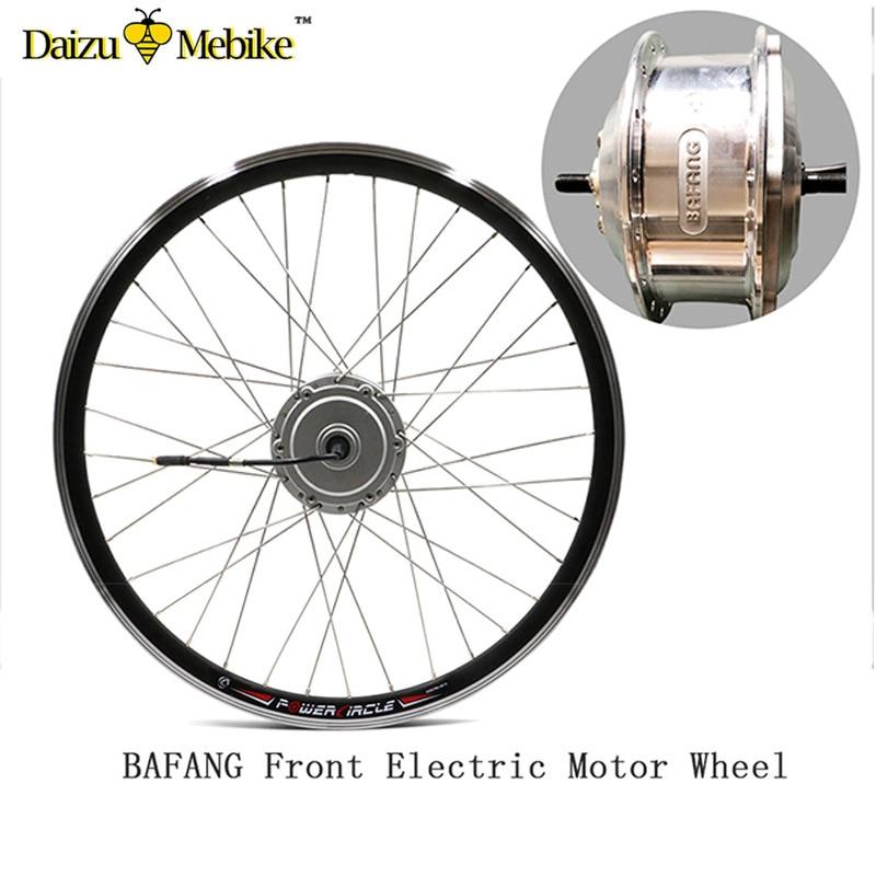 Bafang 36/48 v 250 w 350 w 500 w roue de moteur de moyeu de vitesse de vélo électrique 26 pouces 700c 8fun kit de conversion de vélo électrique roue de moteur