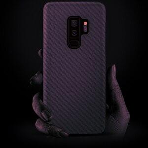Image 5 - 炭素繊維ケース三星銀河S20超S10プラスS8 S9プラス注10注9 20マットアラミド繊維超薄型携帯電話のカバー