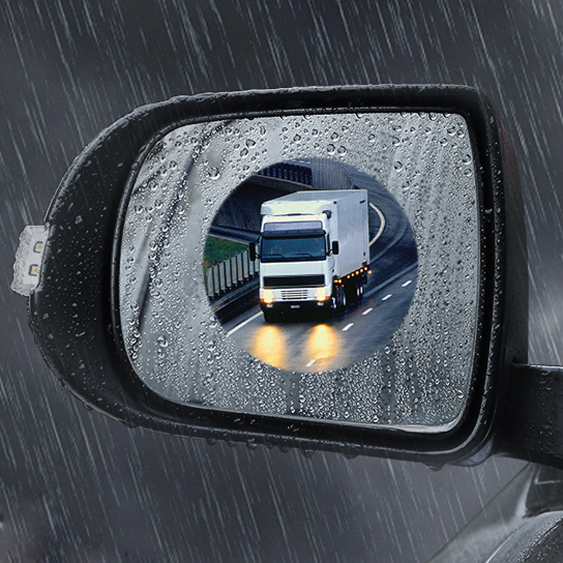 Car Anti Water Anti Fog Rearview Mirror Protective Film For <font><b>Lada</b></font> Granta Vaz Kalina Priora Niva Samara 2110 Largus <font><b>2109</b></font> 2107 2106 image