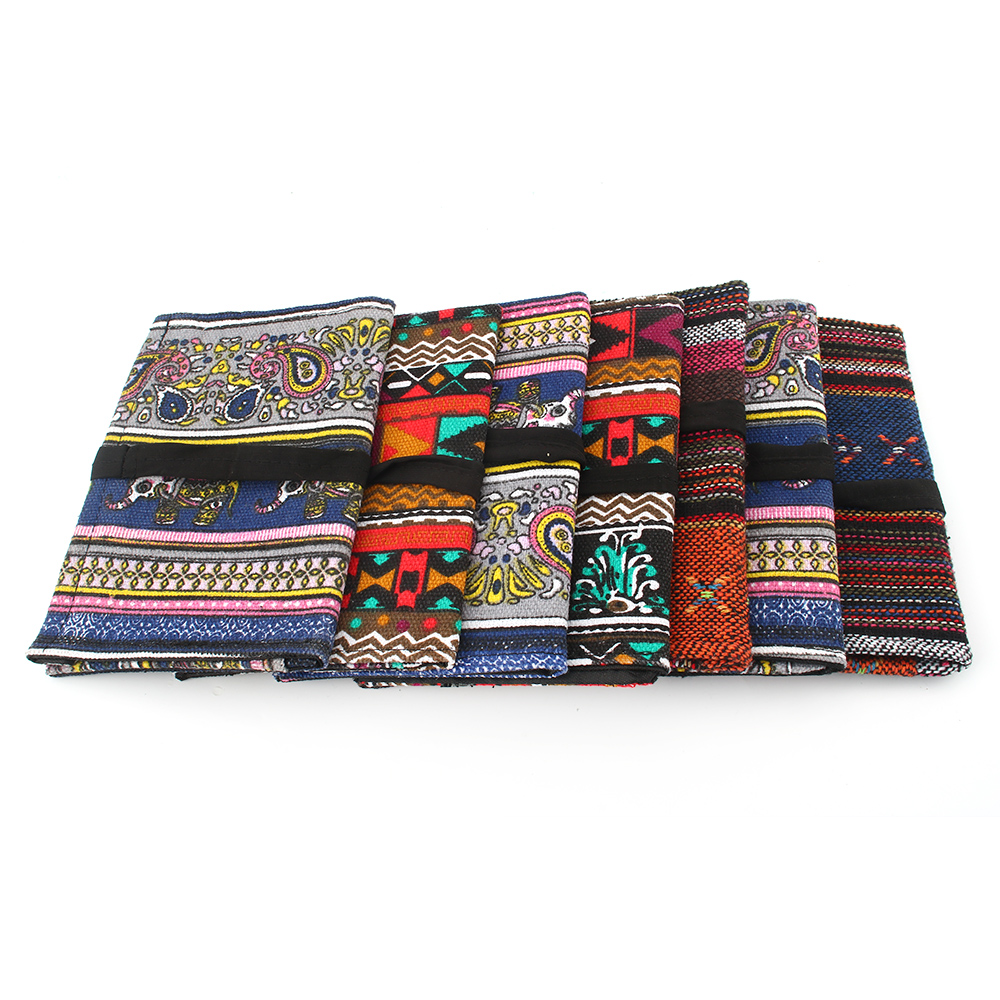 Jinlin 61039 Textile Fabric Cigarette Case Pocket Box with Creative Pattern Weed Cigarette Accessories Random Muticolors 2018