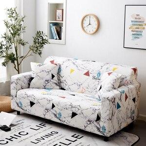 Image 4 - Parkshin geométrico 1/2/3/4 asientos Slipcover Stretch sofá cubre muebles Protector de poliéster Loveseat sofá cubierta toalla