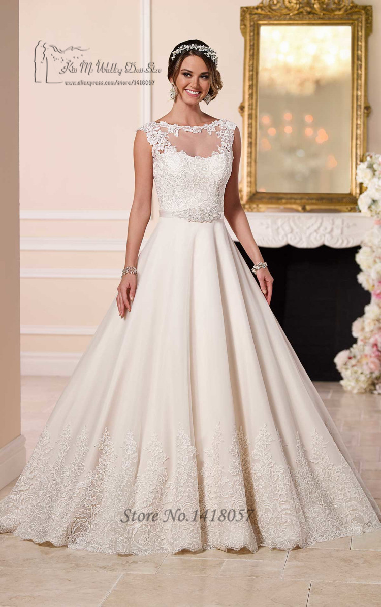 Robe de Mariee Hot Sell Halloween Lace Wedding Gowns Plus Size ...