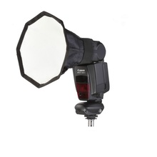 Mamen 15cm Portable Softbox Mini Flash Photo Diffuser Reflector  Soft Light Box  For Canon Nikon Sony Camera
