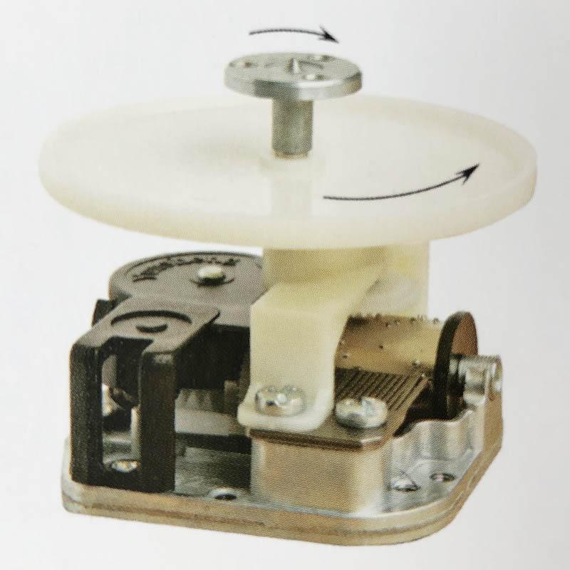 Caja Papel M/úsica Manivela Mecanismo Melod/ía Volar Arco Iris