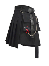 Preppy Style Women Skirts 2019 Spring Summer Skirts Female High Waist Lace Up Big Hem Mini Skirt For Girls A-Line Skirt AIYANGA shein girls black solid button up belted casual girls skirts kids clothing 2019 spring fashion a line preppy long flared skirts