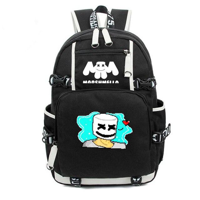 Рюкзак Marshmello черный 2
