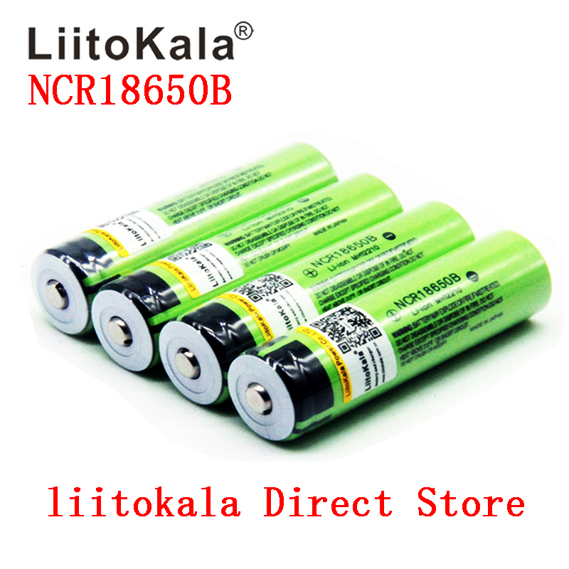 2ks překlad - 2020 NEW Original LiitoKala 18650 3400mAh battery 3.7V Li-ion Rechargebale battery  18650B18650 3400 NCR18650B